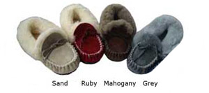 Val Moccasin Colours